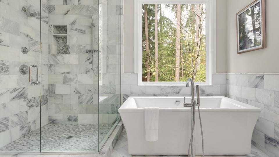 Shower Tile Ideas – Glass Accent Tile Designs